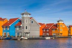 Costruzioni urbane di stile europeo Fotografie Stock Libere da Diritti