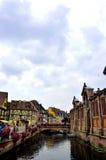 Costruzioni variopinte a Colmar, Francia immagini stock libere da diritti