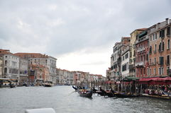 Costruzioni a Venezia fotografia stock libera da diritti