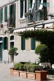 Costruzioni a Venezia, Italia fotografie stock libere da diritti