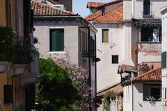 Costruzioni a Venezia, Italia immagini stock