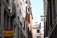 Costruzioni a Venezia, Italia fotografia stock libera da diritti