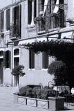 Costruzioni a Venezia, Italia fotografia stock