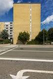 Costruzioni viventi nella città di Copenhaghen Immagini Stock