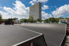 Costruzioni viventi nella città di Copenhaghen Immagini Stock Libere da Diritti