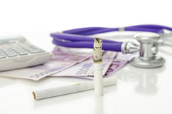 Free Costs And Dangers Of Smoking Royalty Free Stock Photos - 30937418