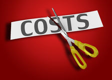 Costs as concept Royalty Free Stock Photo