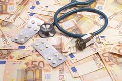 costs att öka för hälsa Arkivfoto