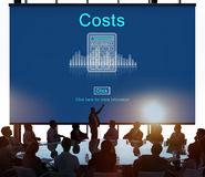 Costs Budget Debt Economy Finance Investment Concept Royalty Free Stock Photography
