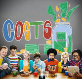 Costs Capital Budget Investment Economic Concept Stock Images