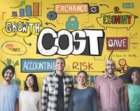 Costs Finance Banking Money Cash Flow Concept Stock Images