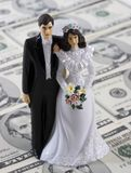 Costs of getting married Royalty Free Stock Photography