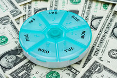 Costs of Medication Royalty Free Stock Image