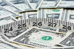 Costs Of Weight Loss Royalty Free Stock Images
