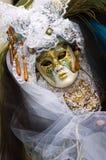 costume декоративный полный venice масленицы стоковое изображение