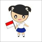 Costume Индонесии традиционный Стоковое фото RF
