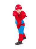 costume масленицы мальчика немногая Стоковая Фотография
