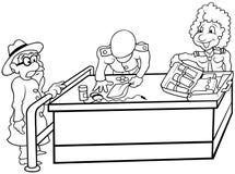 Costume ilustração do vetor