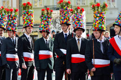 Costume carnival event in Prague Royalty Free Stock Photography