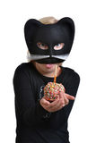 Costume Cat Royalty Free Stock Image