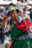 Costume colourful tradizionale portato al Corpus Christi Fotografia Stock
