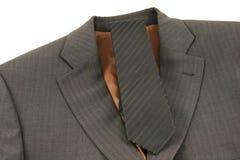 Costume d'affaires de Brown photos stock