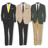 Costume d'homme Vêtx la collection Vecteur illustration stock
