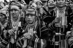 Costume das entranhas do monte de Akha Foto de Stock Royalty Free