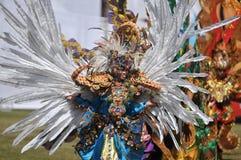 Costume de batik Photographie stock libre de droits