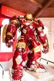 Costume de Buster Iron Man de carcasse au musée de Madame Tussauds Photographie stock