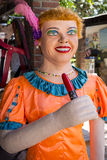 Costume de carnaval d'Olindas Image stock