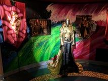 Costume de Philippa Georgiou Star Trek d'empereur à l'objet exposé de découverte photographie stock