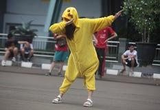 Costume de Pikachu Photos libres de droits