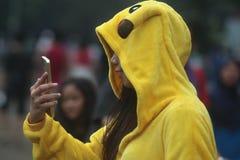 Costume de Pikachu Photo stock