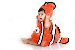 Costume de poissons Photo stock