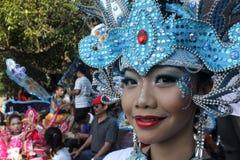 Costume del batik Immagini Stock