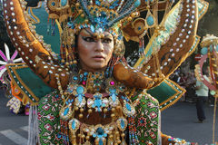 Costume del batik Fotografia Stock Libera da Diritti