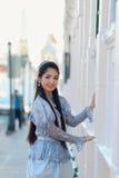 Costume del cittadino della Tailandia immagini stock libere da diritti
