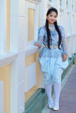 Costume del cittadino della Tailandia immagine stock libera da diritti