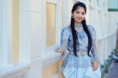 Costume del cittadino della Tailandia fotografia stock libera da diritti