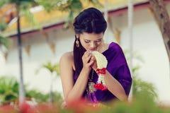 Costume del cittadino della Tailandia fotografie stock libere da diritti