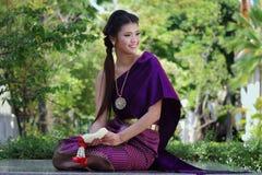 Costume del cittadino della Tailandia Immagini Stock