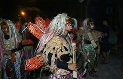 Costume del diavolo Immagini Stock