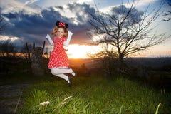 Costume del mouse del bambino Fotografia Stock