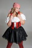 Costume del pirata Immagini Stock