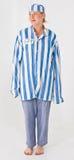 Costume del prigioniero Fotografia Stock