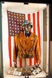 Costume del ` s di capitano America Immagini Stock Libere da Diritti