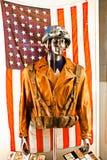 Costume del ` s di capitano America Fotografie Stock