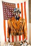 Costume del ` s di capitano America Immagine Stock