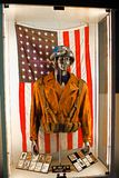 Costume del ` s di capitano America Immagine Stock Libera da Diritti